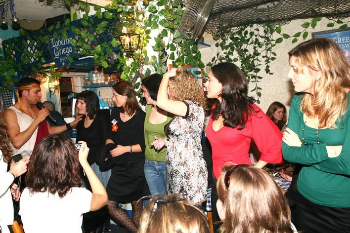 Espectáculo Taberna Griega